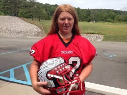 High school girl, 14, hopes to play football on offensive, defensive lines  | Sports | tahlequahdailypress.com