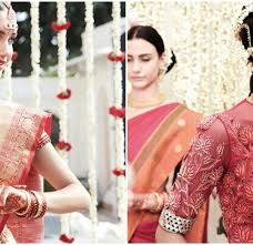 be a traditional south indian bride