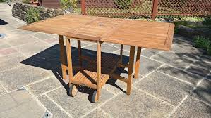 hard wood garden table b q millan