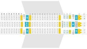 norwegian air shuttle seating chart