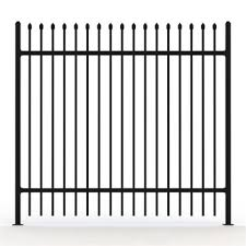 New Garden Security Wrought Iron Fences Designs Steel Fence Panels Decorative Garden Fence Steel Buy Garrison Security Fencing Garrison Fence Garrison Security Fencing For Industrial Product On Alibaba Com