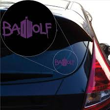 Doctor Who Bad Wolf Vinyl Decal Sticker 903 Yoonek Graphics