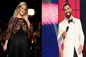 Drake + Adele Hang Out 'as Friends'