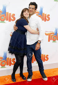 Zooey Deschanel And Jacob Pechenik At The Los Angeles Premiere.. Stock  Photo, Picture And Royalty Free Image. Image 64564642.