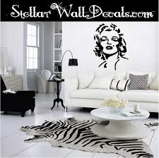 Marilyn Monroe Famous Icon Vinyl Wall Decal Wall Mural Car Sticker Swd