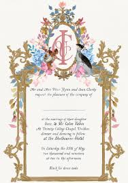 wedding invitation wording the one fab