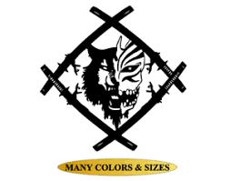 Bleach Hollow Squad Xavier Wulf Vinyl Decal Sticker Car Window Computer Skate Ebay