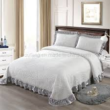 china hot hotel cover bedspread