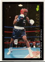 1992 Classic Classic Games World Class Athletes Ivan Robinson #44