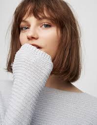 Tapety Fran Summers Kobiety Model Krotkie Wlosy Niebieskie