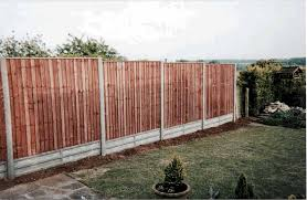 Heavy Duty Featheredge Fence Panel Daws Heath Timber Ltd