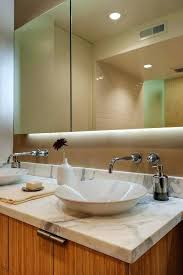 recessed mirrored bathroom cabinets