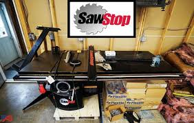 Auctions International Auction Business Liquidation Surplus 12415 Item Sawstop Industrial Cabinet Rip Saw With T Glide Fence