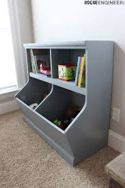 Bookcase With Toy Storage Rogue Engineer Diy Toy Storage Diy Storage Diy Furniture