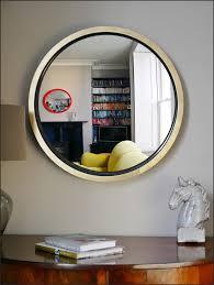 extra large round mirror