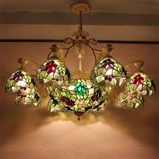 pendant lamp ceiling lights art stained
