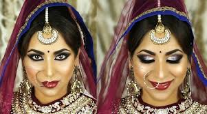 indian south asian bridal makeup tutorial