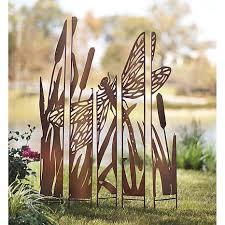 metal painted panels garden screen