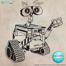 Wall E Wall Art Vinyl Decal From Disney S Wall E