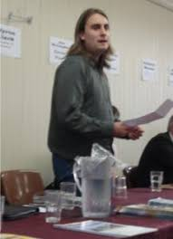 Byron Clark's speech at Linwood Community Arts Center – FightBack