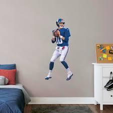 Eli Manning Life Size Officially Licensed Nfl Removable Wall Decal