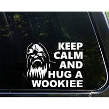 Amazon Com 7 5 X 3 Chewbacca Solo 2024 Let The Wookie Win Vinyl Die Cut Decal For Your Car Truck Laptop Window Kitchen Dining