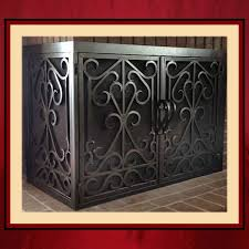 l shaped fireplace door norths