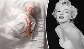marilyn monroe writhes around in
