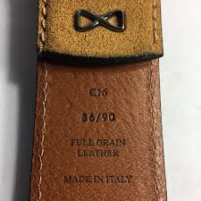 new belt full grain leather made in