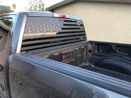 All Years Ford F150 American Flag Decal Offroad Merica Etsy