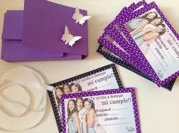 Invitacion De Cumpleanos Violetta Invitaciones De Cumpleanos