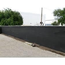 6 X 50 Black Fence Screen Mesh Tarp