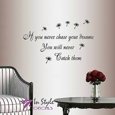 Chase Your Dreams W Horses And Stars Wall Vinyl Decal Sticker Nursery Motivation 17 00 Picclick
