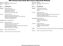 100m hurdle workouts drills pdf
