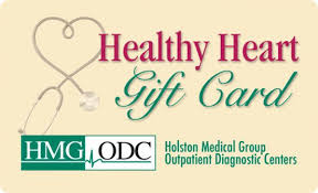 the healthy heart gift card only