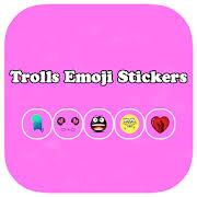 trolls emoji stickers face app in pc