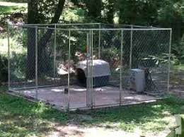 Dog Kennel Dog House In Ground Fence Carencro For Sale In Lafayette Louisiana Classified Americanlisted Com