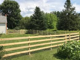 Post Rail And Board Fences Gallup Brook Fencing Llc Northern Vermont Fence Installation