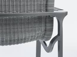 holly hunt outdoor keel dining chair in