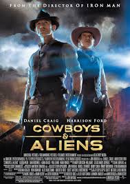 Cowboys & Aliens | Cowboys & aliens, Alien movie poster, Aliens movie