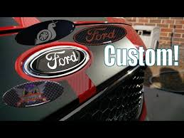 New Custom Ford Gelled Badges For Any Ford Vehicle Gelbadgesau Install Youtube