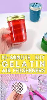 diy scented gel air freshener recipe