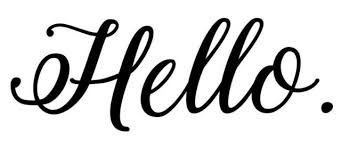 Hello Vinyl Sticker Front Door Porch Greeting Wall Die Cut Decal For Sale Online