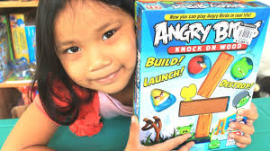 Angry Birds Game: Knock on Wood - Angry Birds Toys by Mattel - YouTube