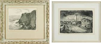 Watson Adele | Two Works: Unidentified Point and Fisherman's Wharf |  MutualArt