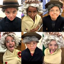 old age theatre makeup work fine