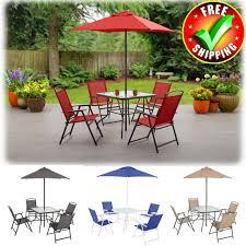 folding table set outdoor patio bistro