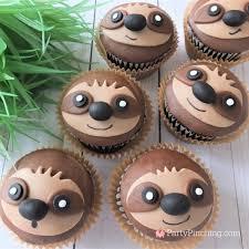 sloth cupcake recipe