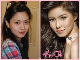 abs cbn stars with and without makeup