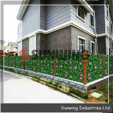 G0602b005 China Faux Ivy Privacy Fence Screen Artificial Hedge Fencing Or Wall Outdoor Manufacturer Supplier Fob Price Is Usd 3 42 13 66 Square Meter